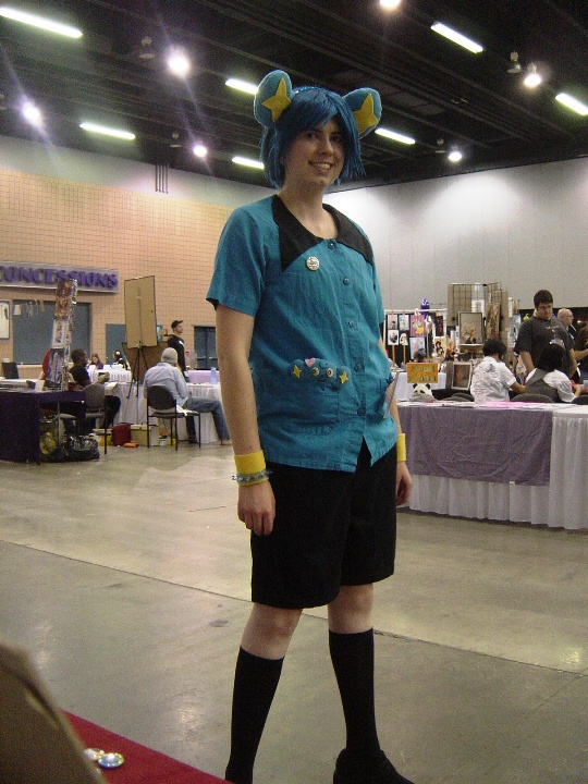 And this is Rachel as Shinx.