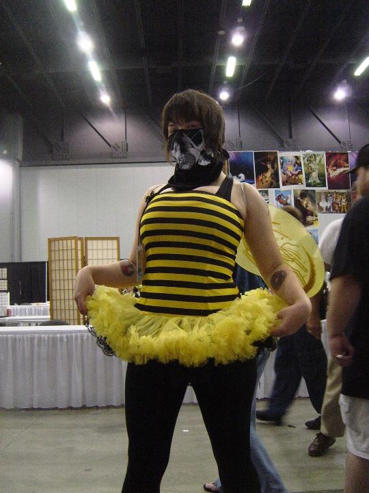 Here is a random bee girl.