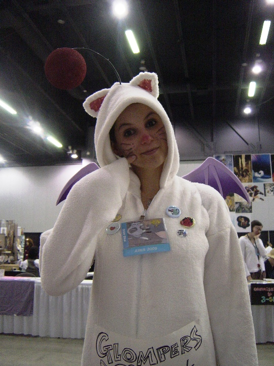 And here is a Moogle! C-C-Combo breaker??